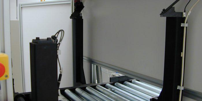 Cabina de inspeccion 3D de baldosas