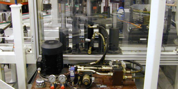 Equipo hidraulico para prensa de estanqueidad