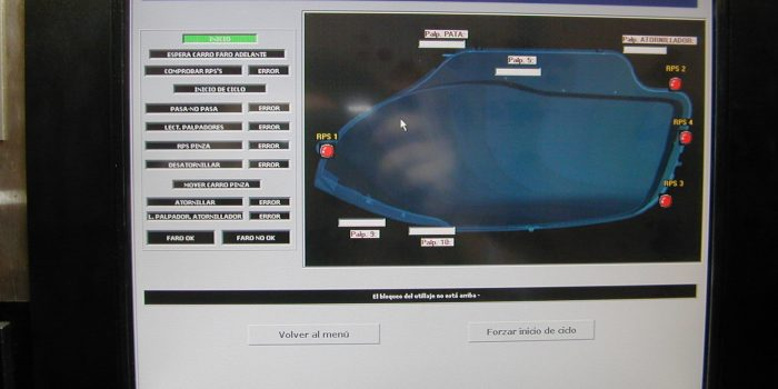 Microcontrol station screen
