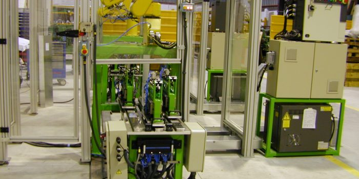 Automated terminal welding