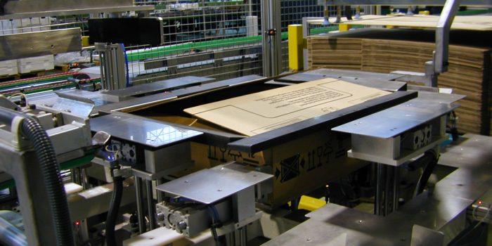 Formadora automatica de cajas