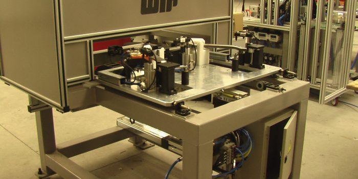 Cabina de triangulacion laser apra tubos B58
