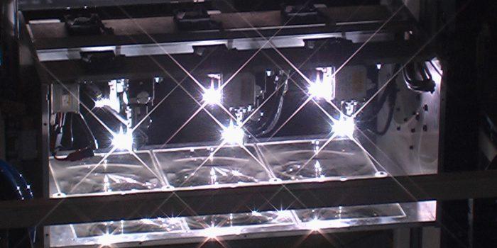 Emisor de analisis rendimiento en modulos fotovoltaicos