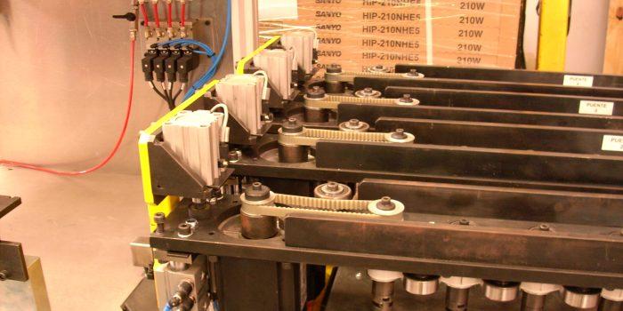 Control de calidad, servoaccionamiento de valvulas