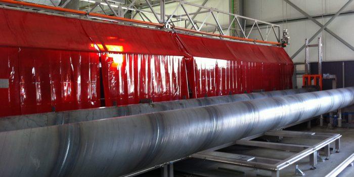Interior soldadura torque tube