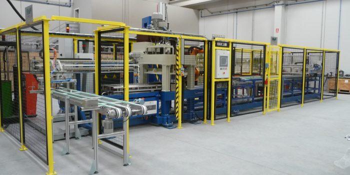Maquina especial - Linea de montaje de evaporadores