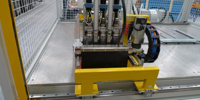 Cabezal CNC de soldadura de pernos