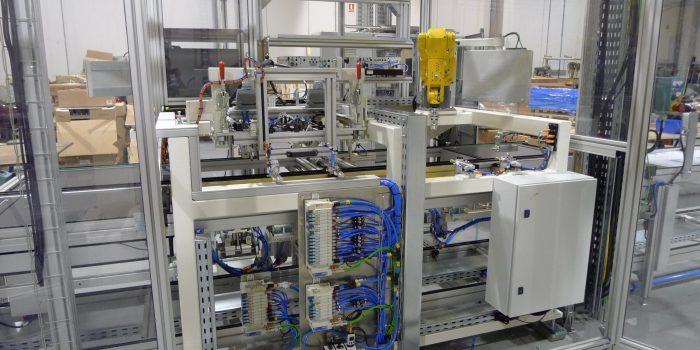 Control de calidad - Puesto robotizado para realizar test en linea de cocinas