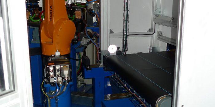 Robot de carga para aplicacion basada en  Belt Picking