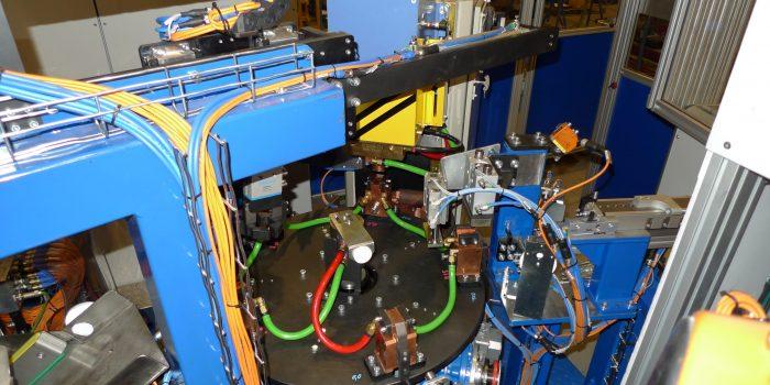 Automatizacion de soldadura rotativa de tuerca enjaulada